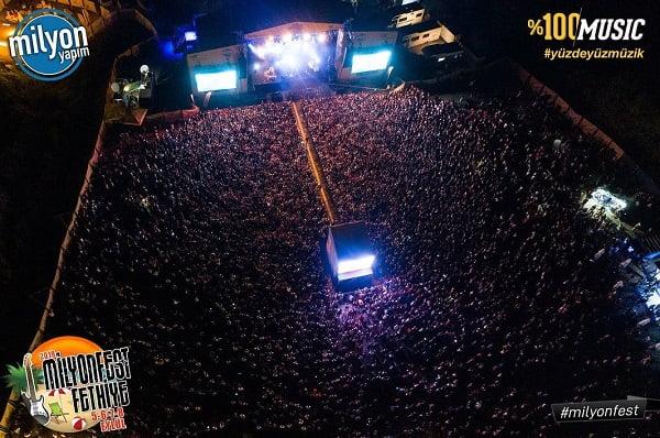 Milyonfest-Fethiye-2019-Travelmugla-Konser Alanı
