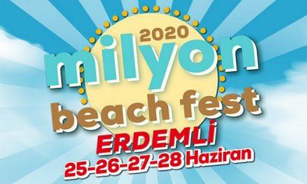Milyon Beach Fest Erdemli 2020