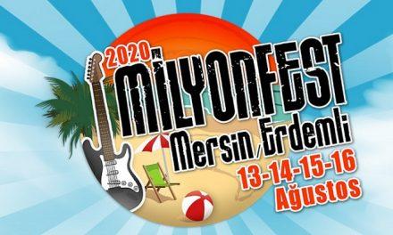 Milyonfest Mersin Erdemli 2020