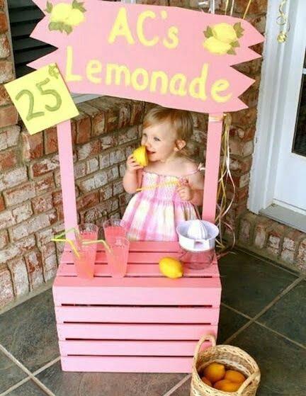 Çocuk Etkinlikleri Limonata Standı