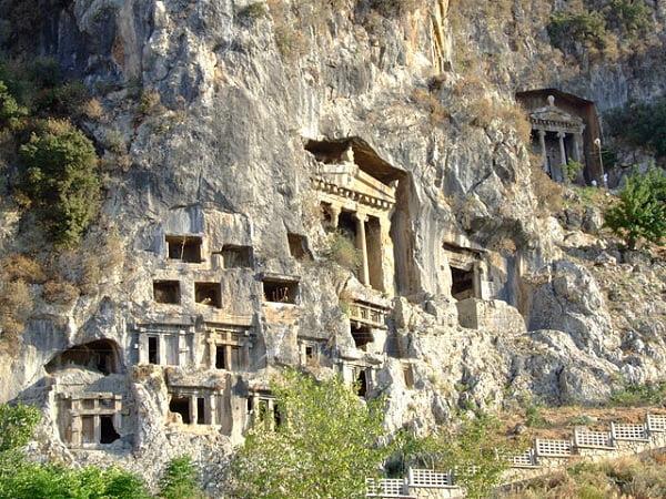 Fethiye Kral Amintas Kaya Mezarları travelmugla.com