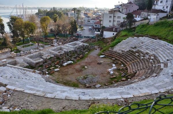fethiye telmesos antik kenti telmesos amfi tiyatro travelmugla.com