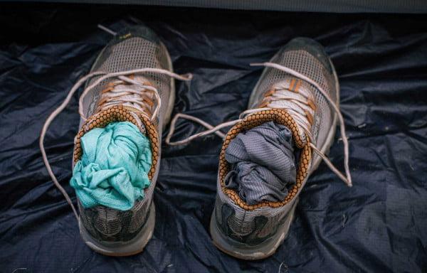 kamp ayakkabı kurutma