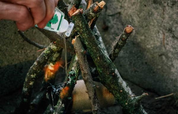 kamp kolay ateş yakma
