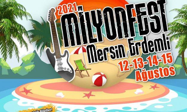 Milyonfest Mersin Erdemli 2021