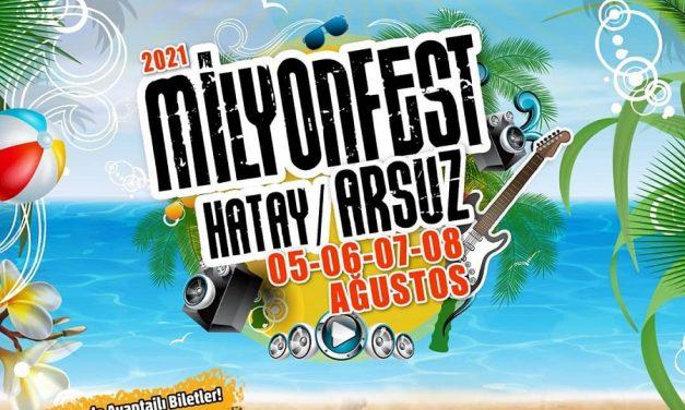 Milyonfest Hatay Arsuz 2021